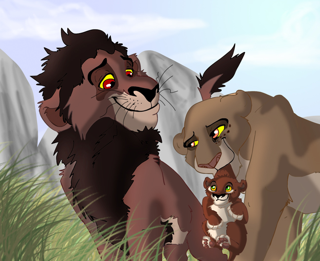 lion king 4 characters