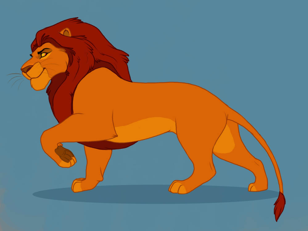 The Lion King Characters Mufasa