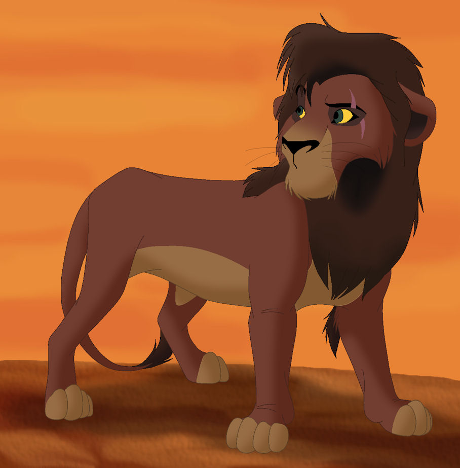 Lion king kovu - photo#9