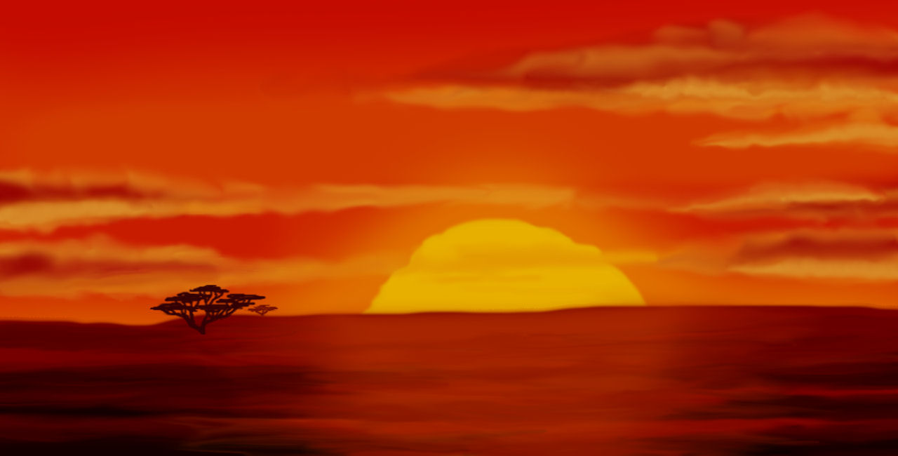Wondrously Polished: Lion King Sunrise
