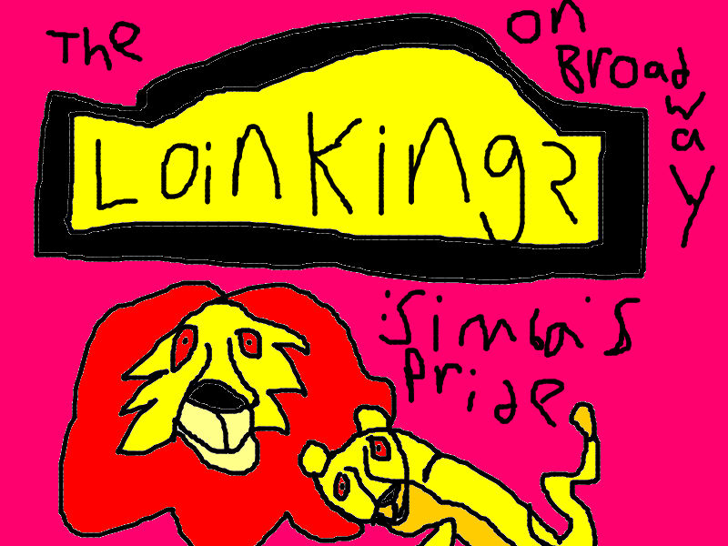 The Lion King 2 Simba S Pride On Broadway Poster Bellaswangirl71 S Album Fan Art Albums Of My Lion King