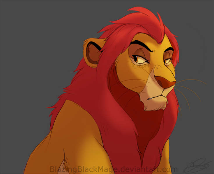 king adult Lion