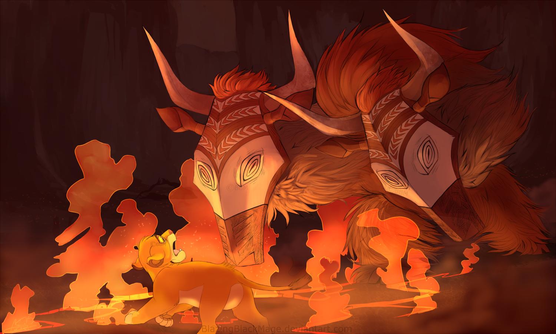 lion king broadway wildebeest