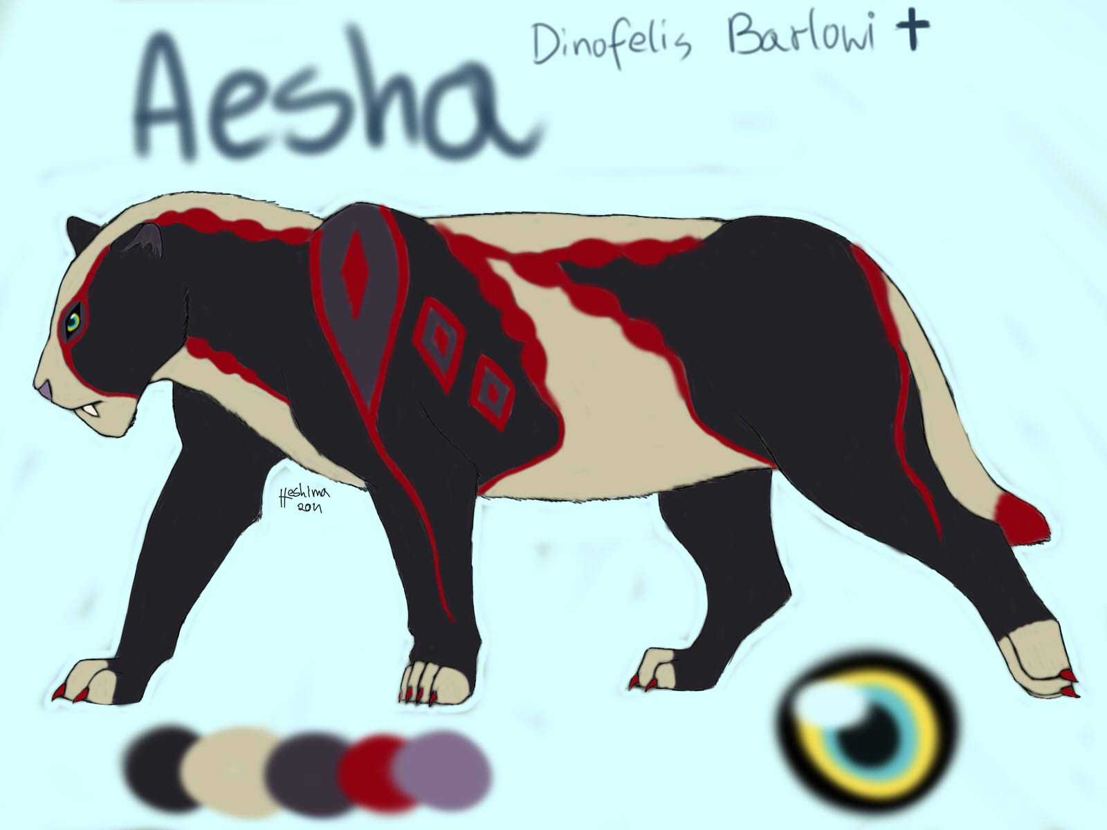 Aesha's Portrait
