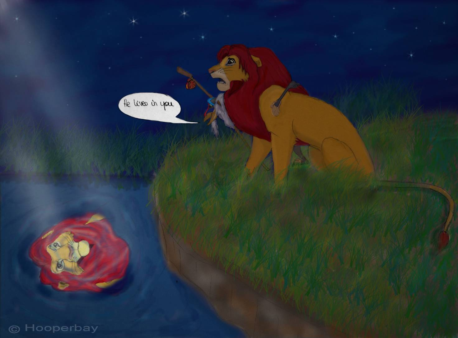 He Lives In You Hooperbay S Album Fan Art Albums Of My Lion King