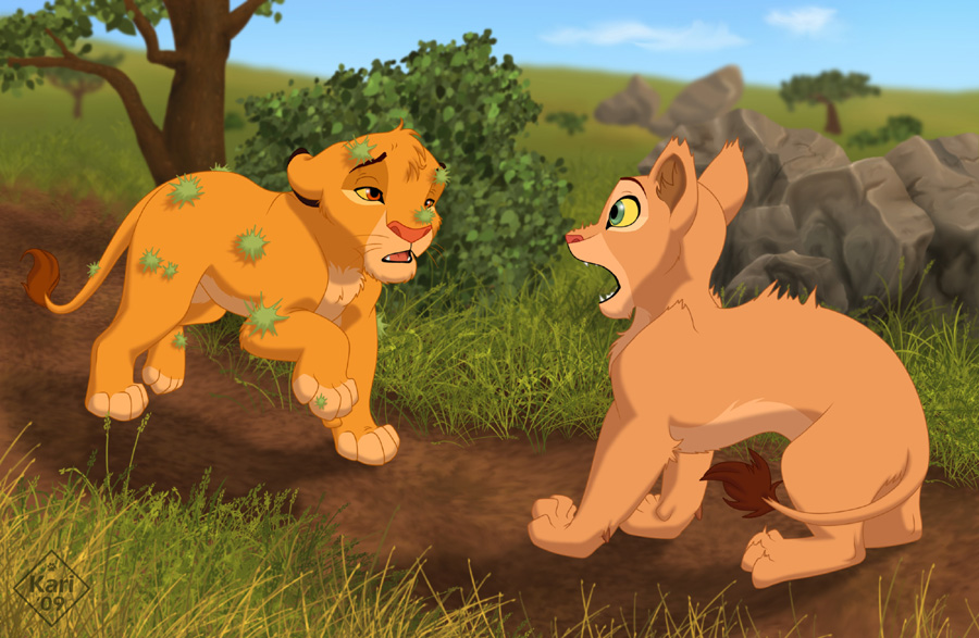 lion king characters as wolves