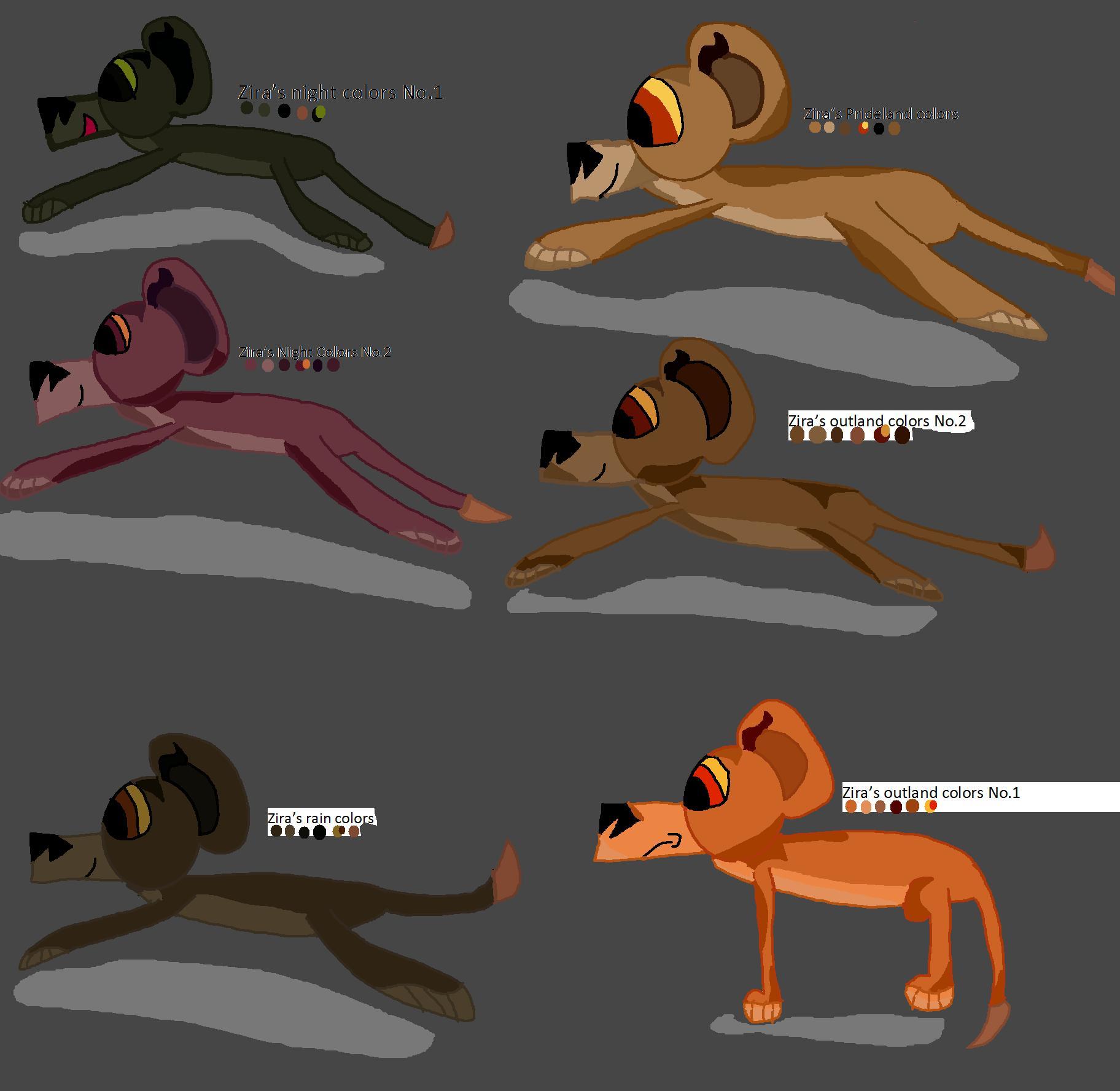 Uncategorized Zira Lion King ziras colors liltigers album fan art albums of my lion king colors