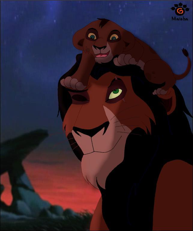 The lion king scar and kovu - photo#2
