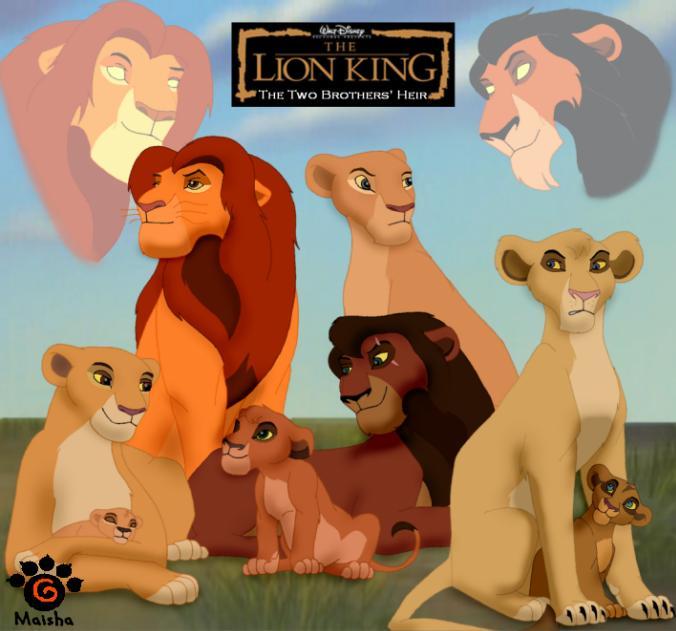TLK 5 « Maisha's Album — Fan Art Albums of My Lion King