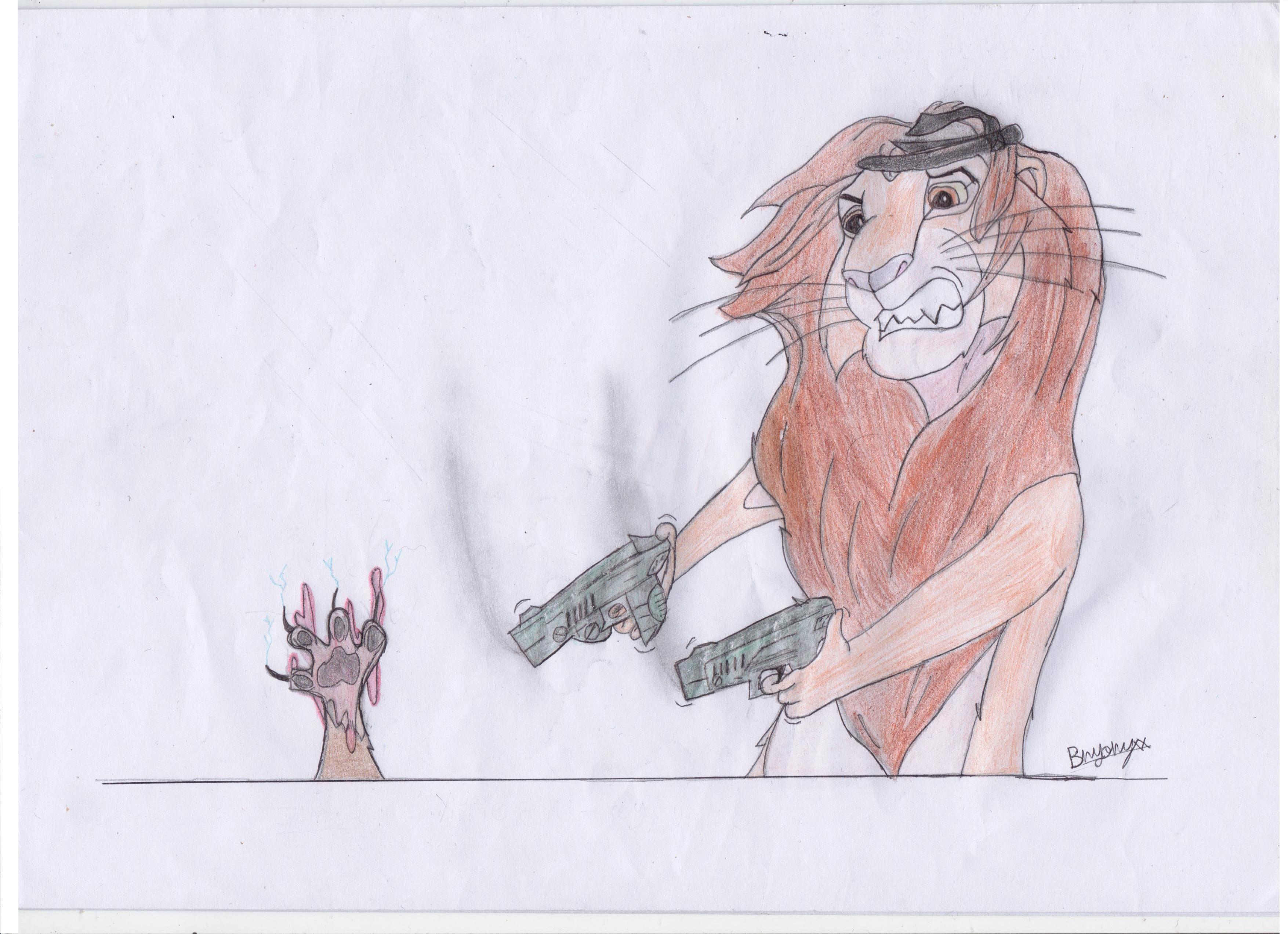 Die hard the lion king