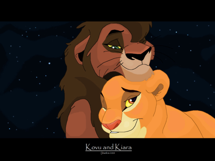 Kovu and Kiara « Shembre's Album — Fan Art Albums of My ...