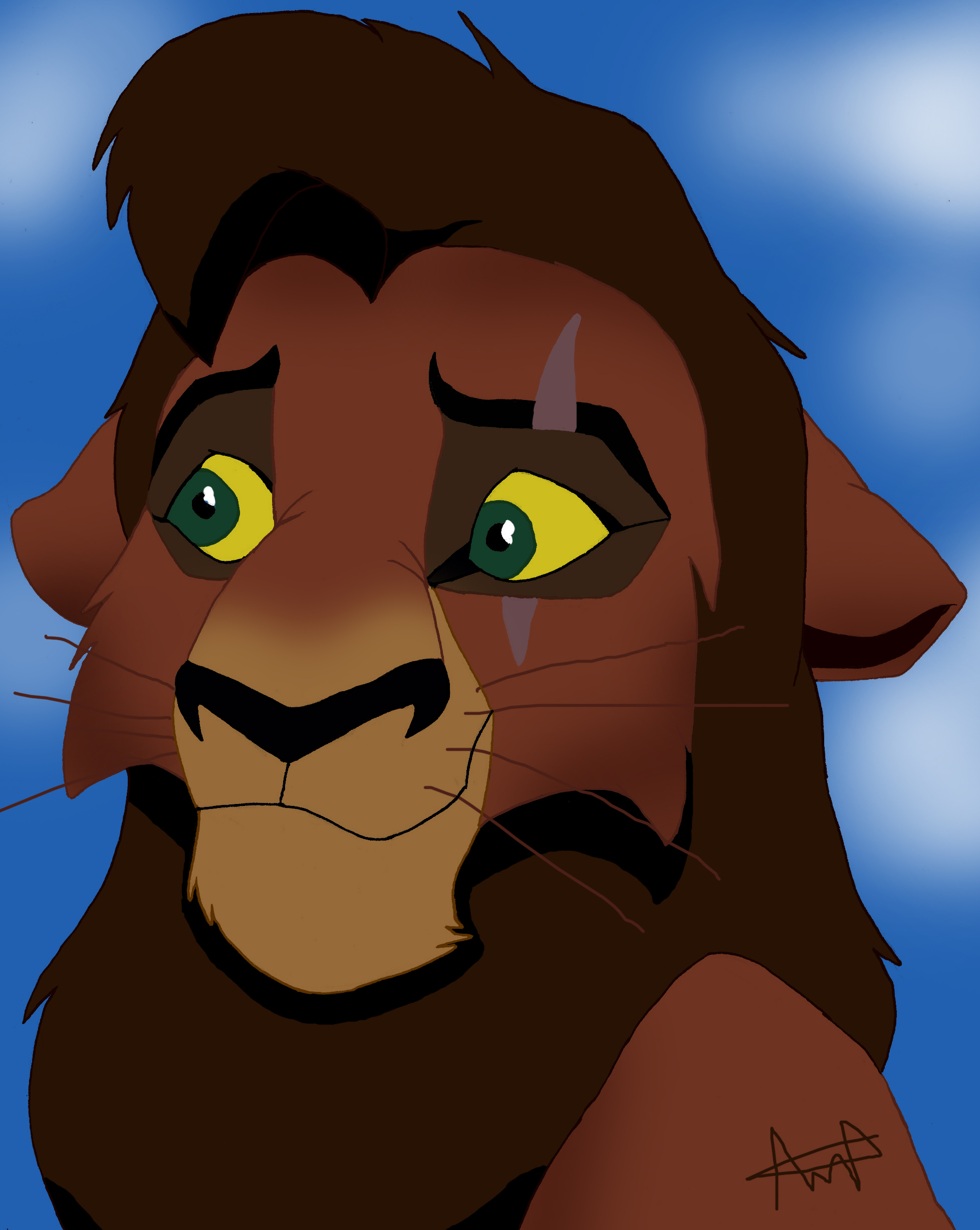 Lion king kovu - photo#1