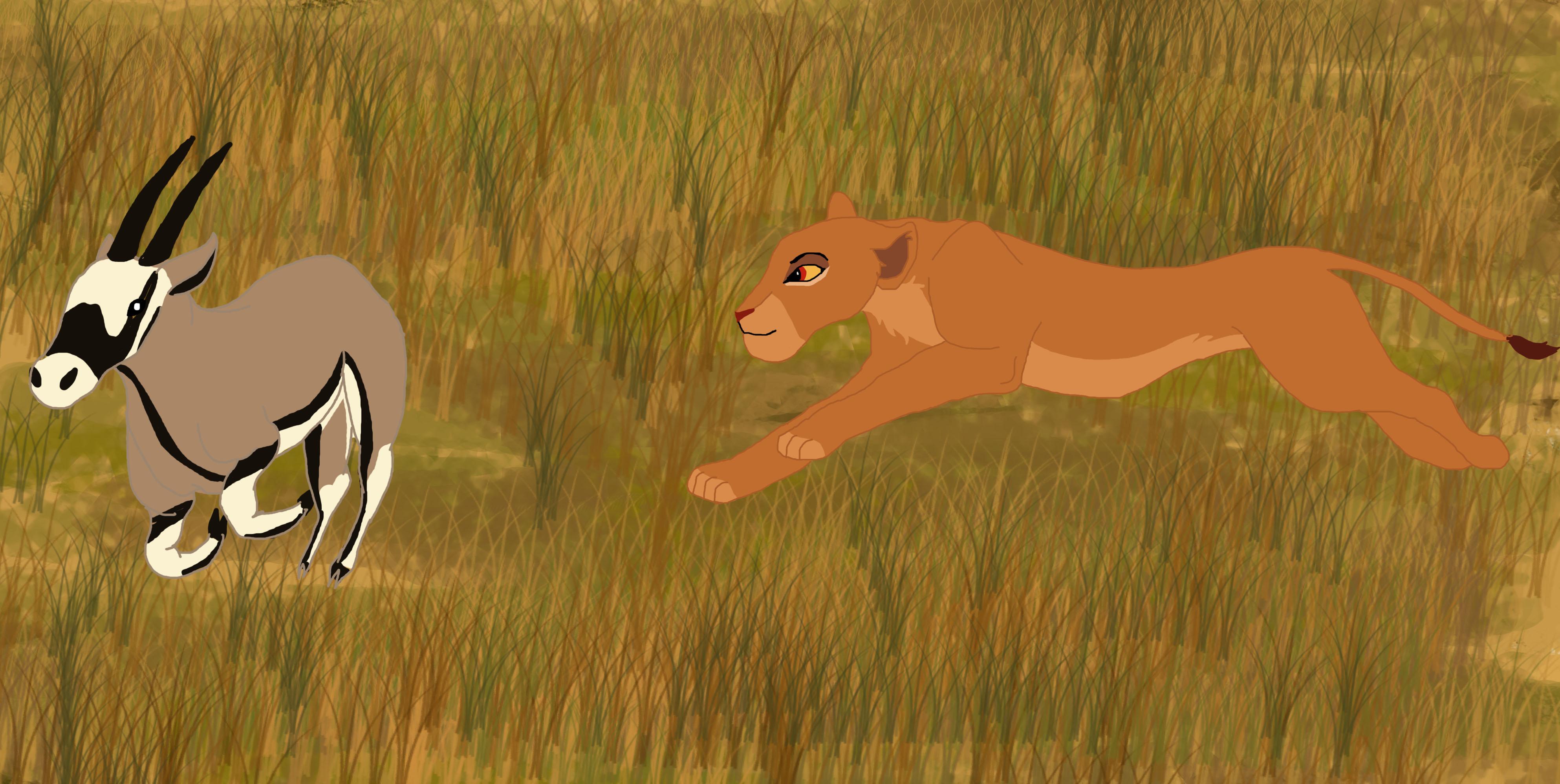 Image Gallery Lion King Kiara Hunting