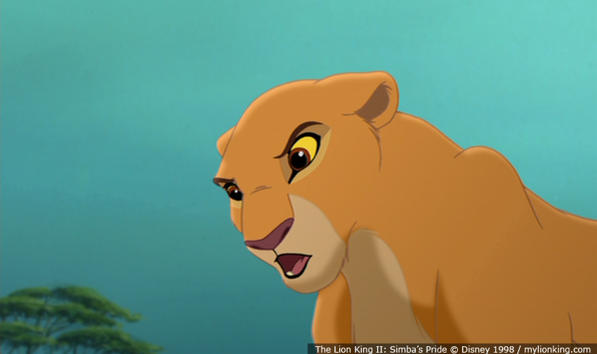 nala and simba meet again for first time