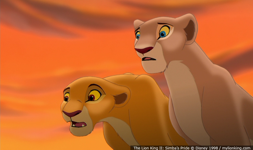 View topic - Are the theories about Kovu and Nala true ...