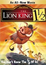 The Lion King 1½ DVD Cover