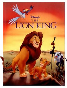 The cover of The Lion King comic.